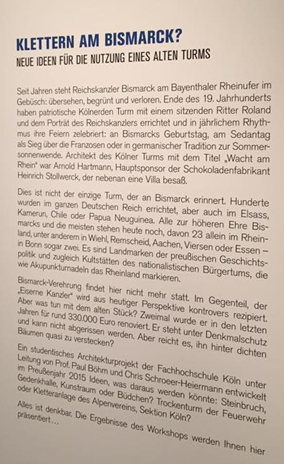 Ausstellungsdeckblatt