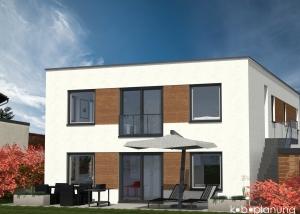 Visualisierung Neubau Niederkassel-Rheidt